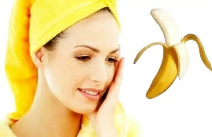 Маски для лица с бананом.