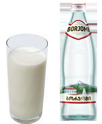 Молоко минеральная вода от кашля