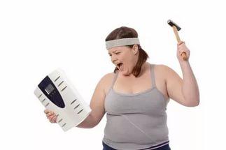 Диета медленно уходит вес