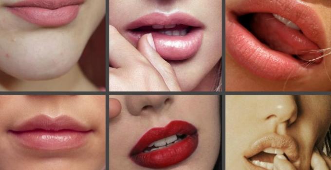 Определение сексуальности по рту