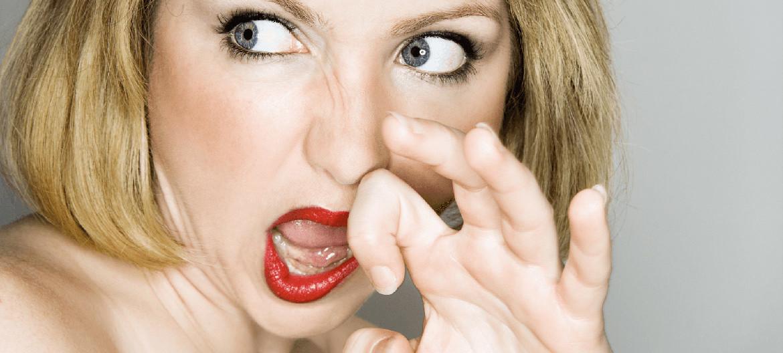 запах кала изо рта причины гастрит