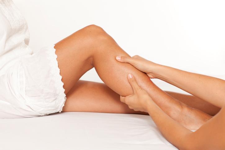 Массаж мышц ног при судорогах