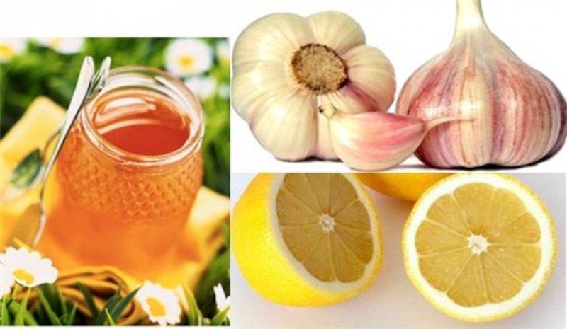 чистка сосудов лимоном и медом рецепт
