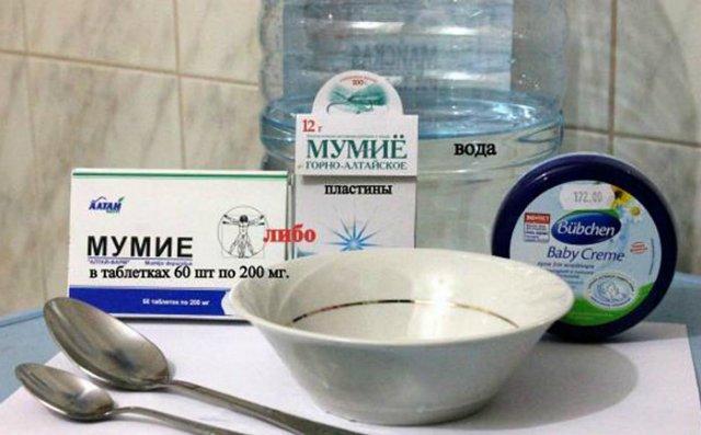 Мумие от целлюлита рецепт крема