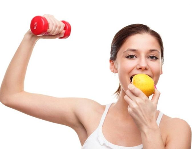 Правильное питание спорт женщины