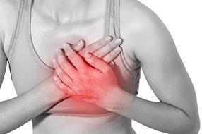 Жгучая боль в сердце: её причины