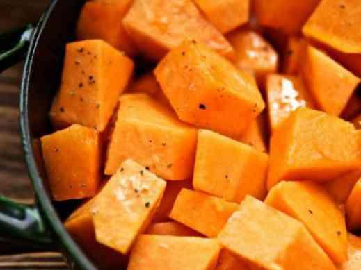 Блюда из вареной тыквы