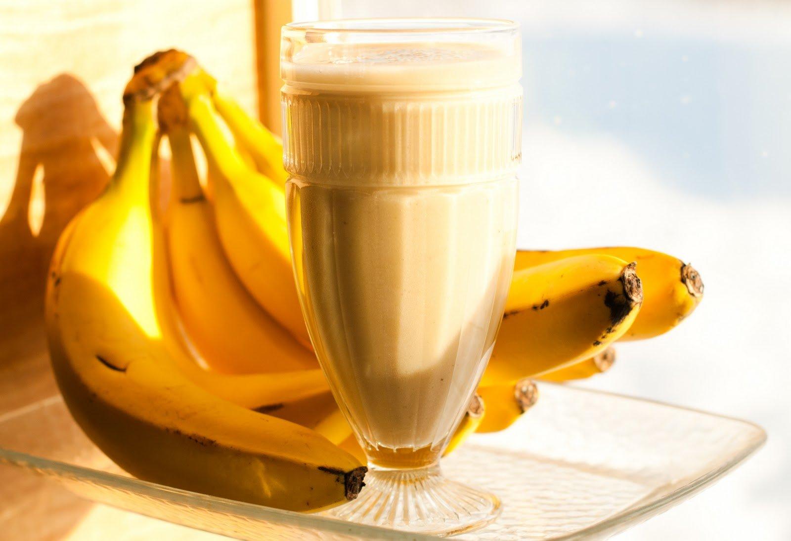 протеиновые коктейли с бананами рецепты