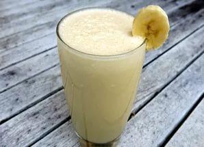 домашний протеиновый коктейль с бананом рецепт