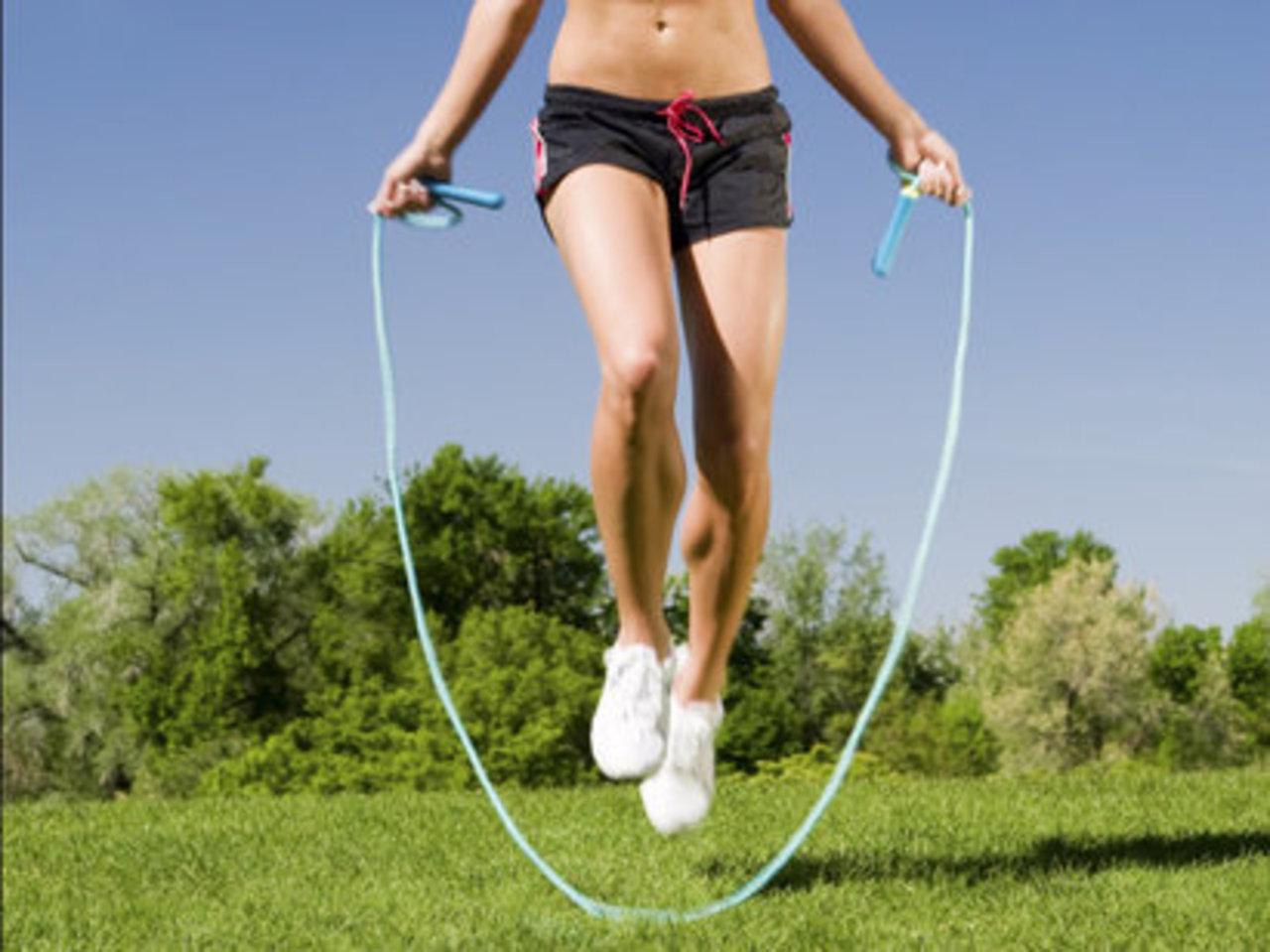 как надо прыгать на скакалке чтобы похудеть