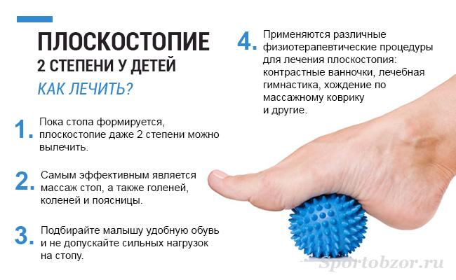 Лечение плоскостопия 2 степени у детей и взрослых - на SportObzor.ru