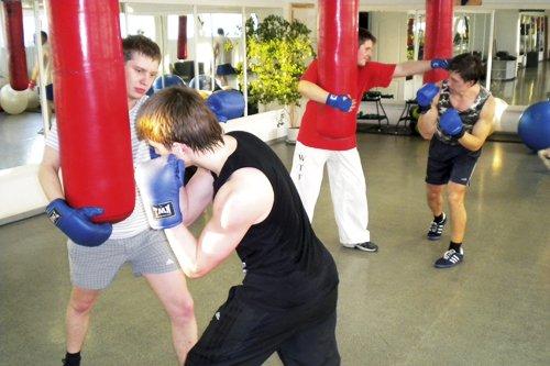 боксерские тренировки в тренажерном зале