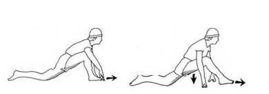 Как научится сесть на шпагат продольный в домашних условиях