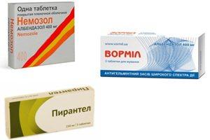 лекарства от паразитов в организме человека отзывы
