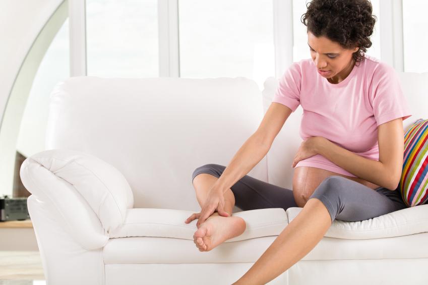 Как снять боль суставов при беременности