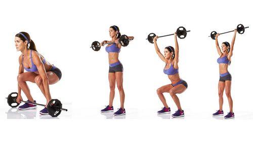 Упражнения со штангой для женщин