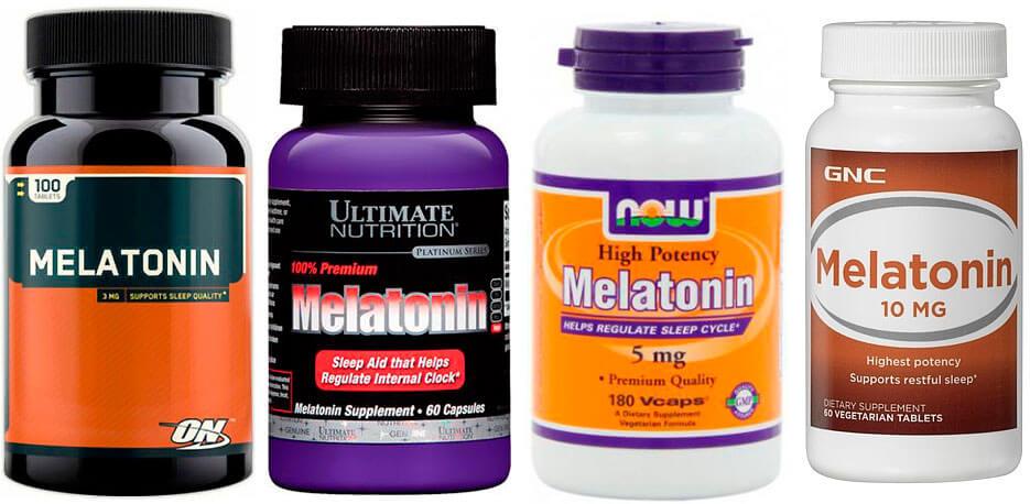 препараты мелатонина как пить