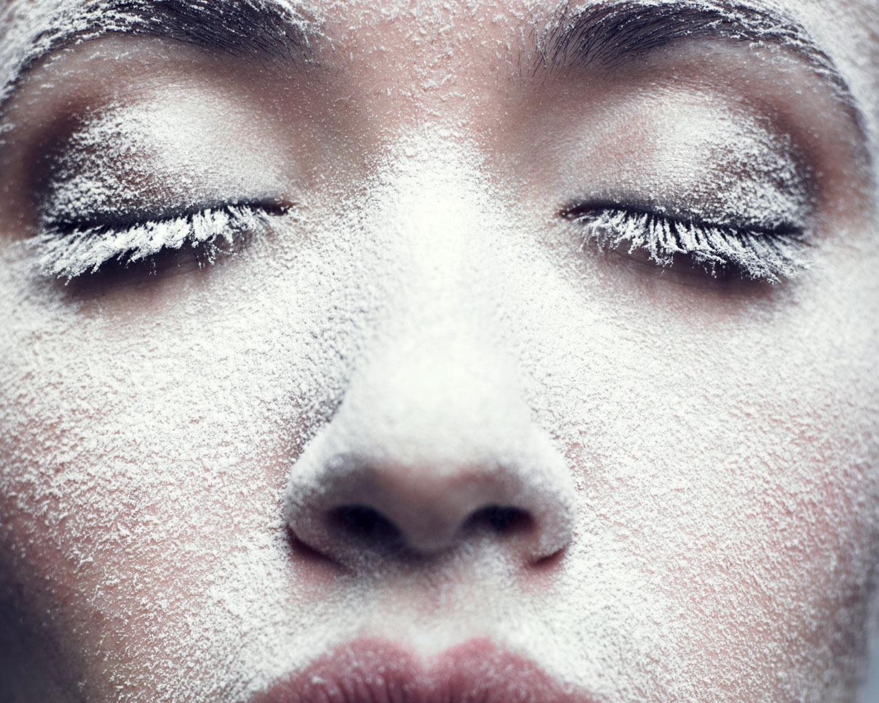 Что делает мороз с нашим лицом