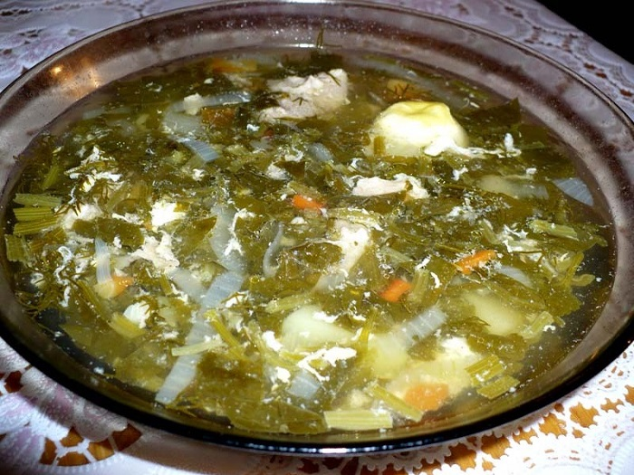 суп с яйцом пошаговый рецепт с фото
