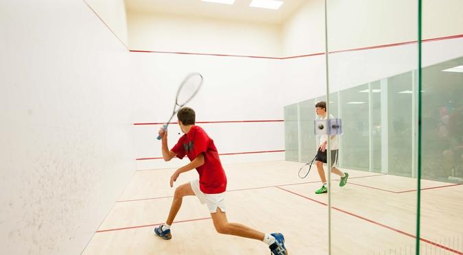 Squash sport ball