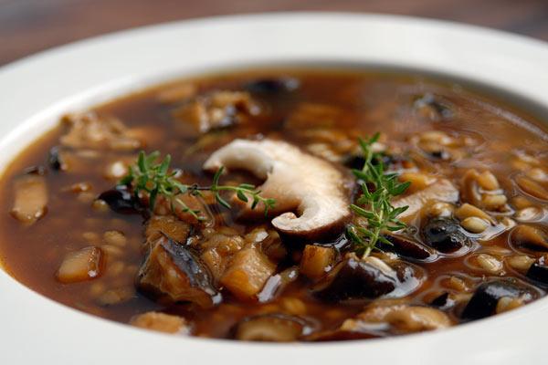 суп грибной каллорийность и рецепт