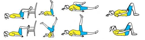 Гимнастика при варикозе ног для пожилых