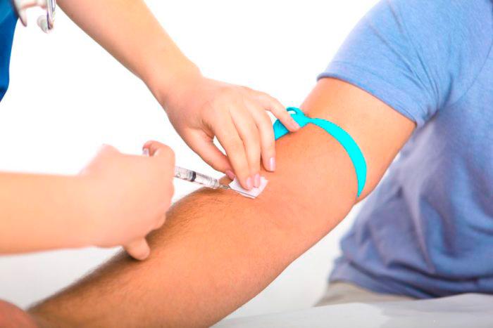 Анализ крови на повышенный билирубин