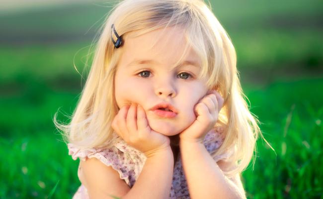 Ребенок здоров с нормальным уровнем билирубина