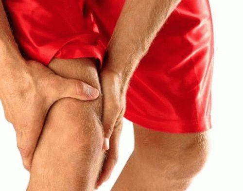 Вспухла мышца на ноге