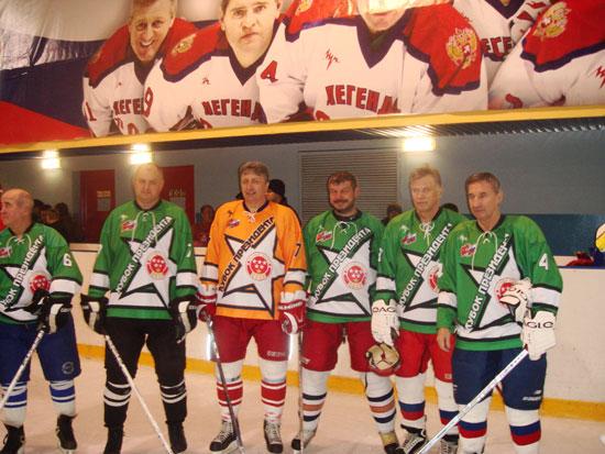 Турнир по мини-хоккею «Кубок Президента», хоккей