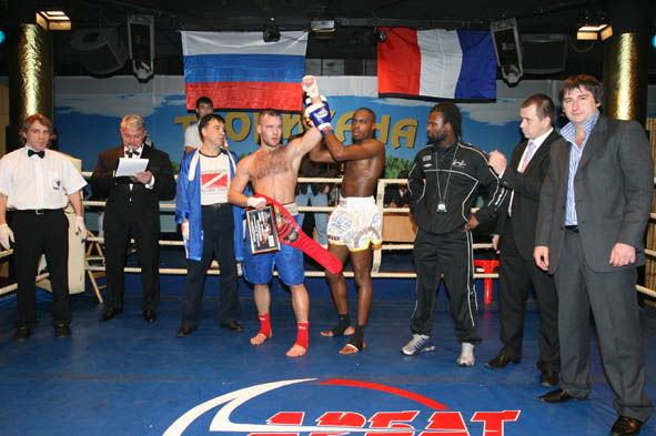 чемпиона мира по профессиональному кикбоксингу по версии WBKF, Бойцовский Клуб «Арбат»