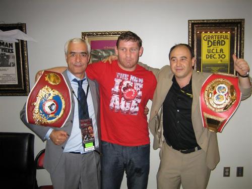 бокс, Султан Ибрагимов