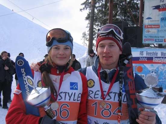 Екатерина Столярова - Чемпионка мира по фристайлу