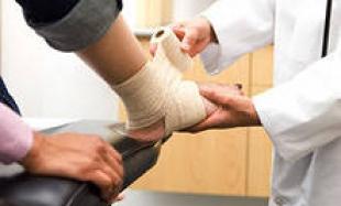 Какие бывают виды переломов костей и первая помощь