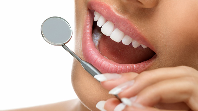 Отбеливание зубов озон