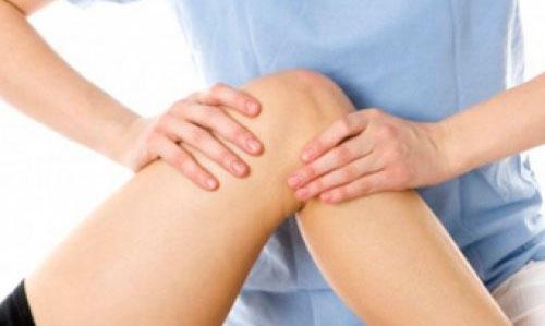 Массаж при болях в коленном суставе