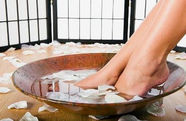 Грибок стопы лечение содой и солью