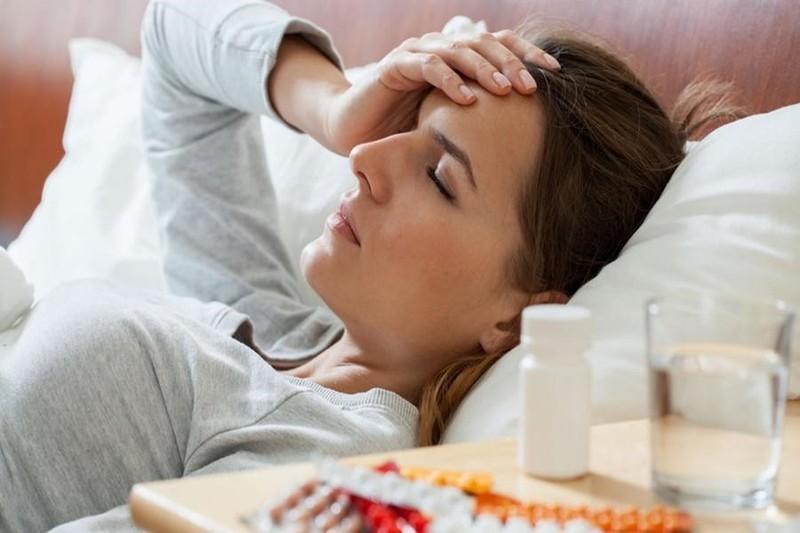 При кашле болит голова в области лба