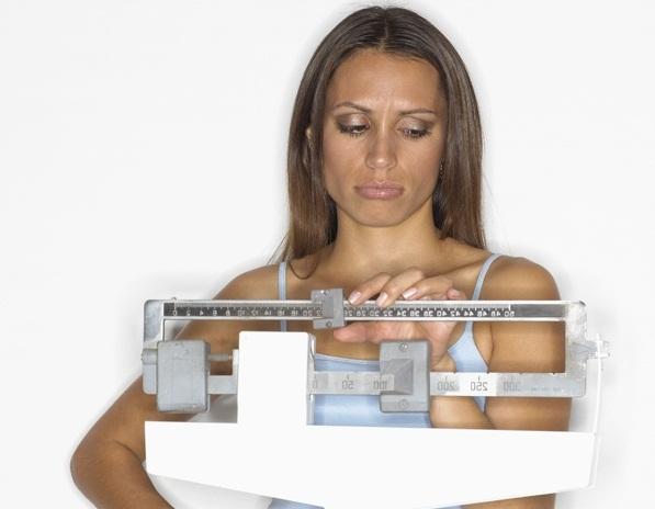 Вес на диете уходит очень медленно