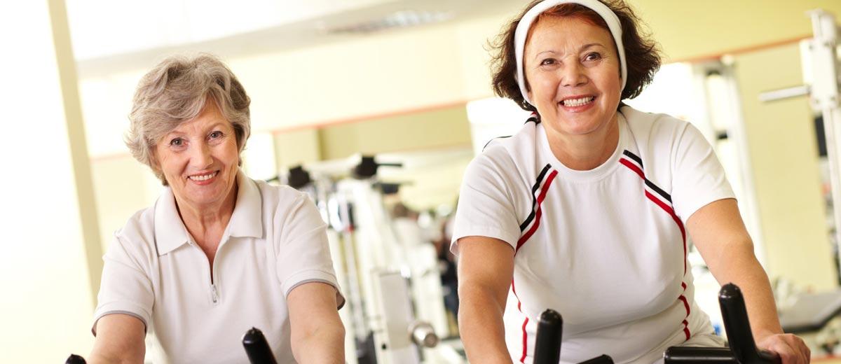 Фитнес для женщин после 50 лет