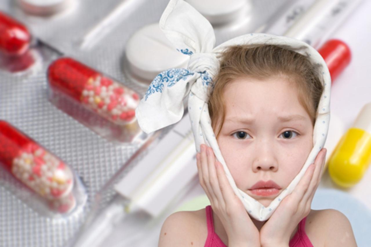 Обезболивающие таблетки от зубов для детей