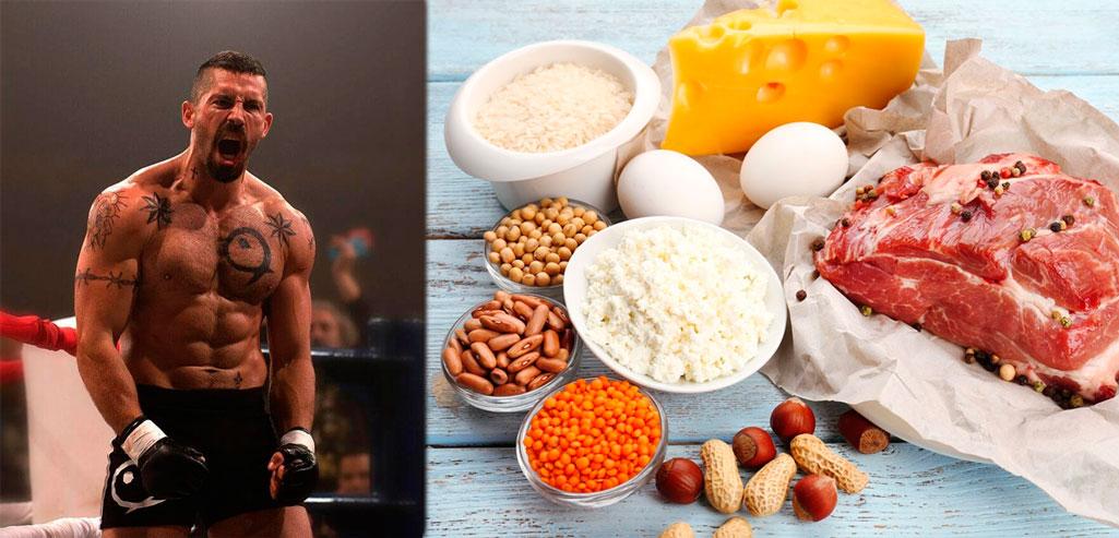 Белковая диета для набора веса и массы