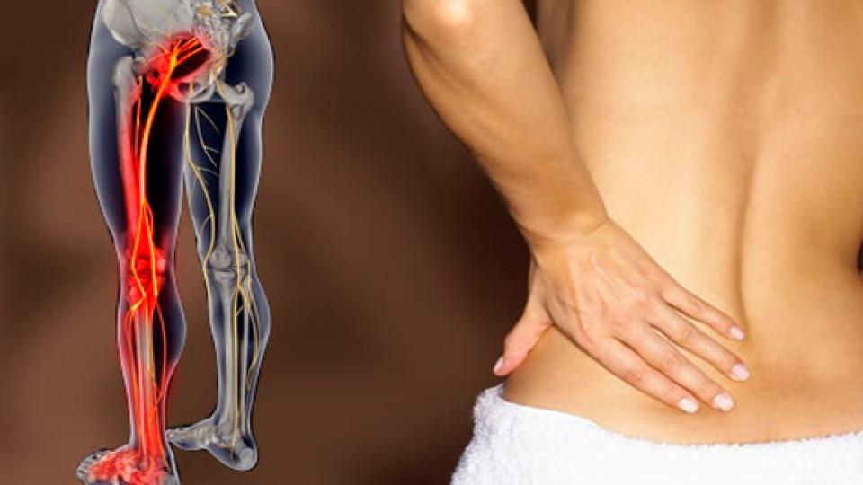 Защемление нерва в ноге: причины, симптомы, лечение