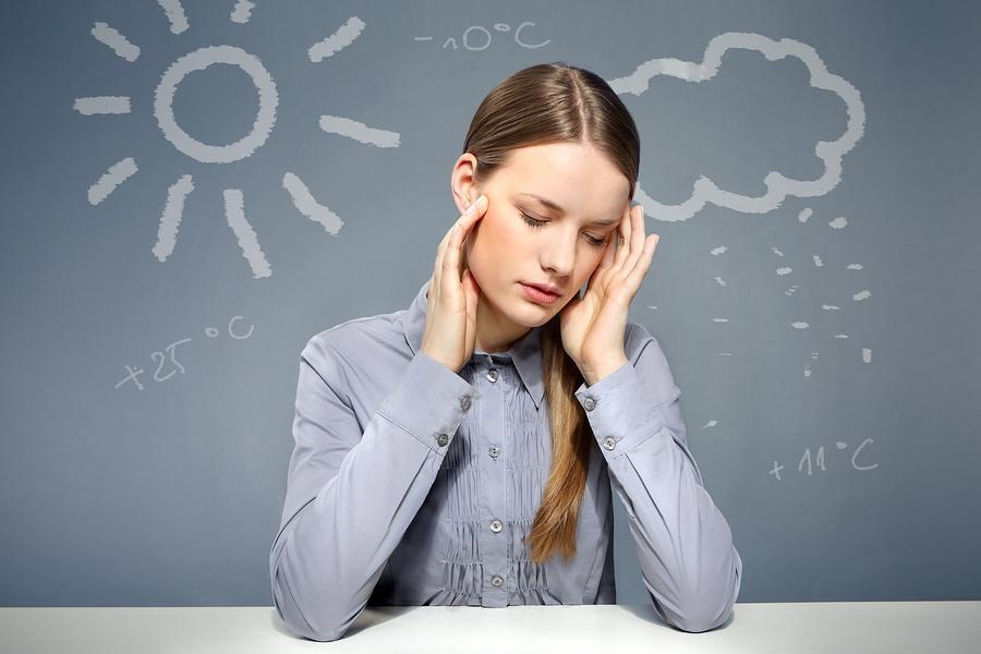 Как атмосферное давление влияет на давление человека?