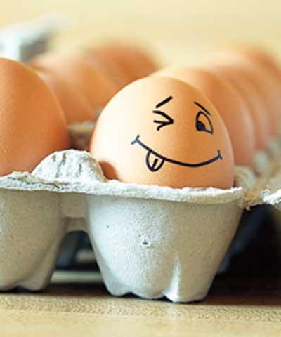 Сколько калорий в вареном яйце