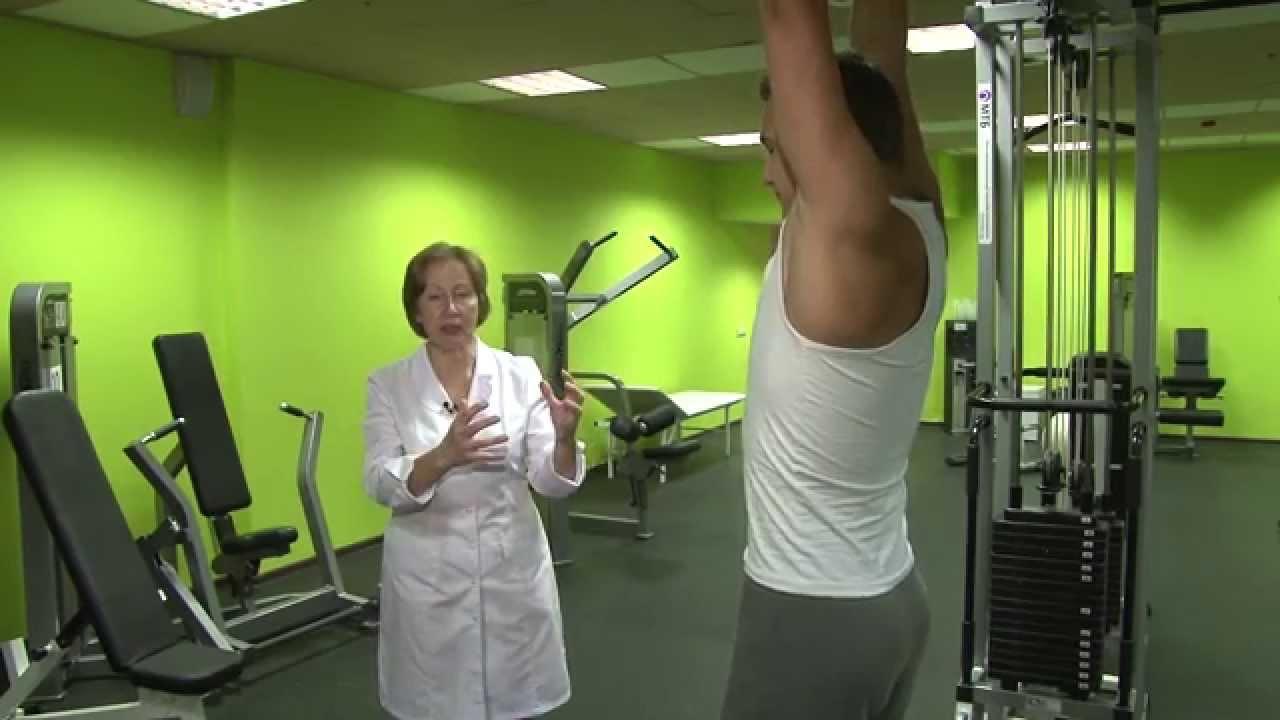 Упражнения на турнике при грыже шейного отдела позвоночника