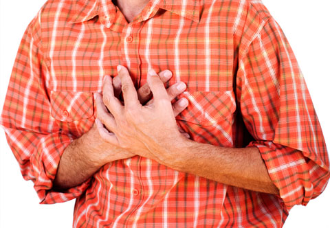Боль при инфаркте миокарда длится тесты