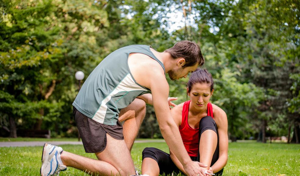 После бега болит голеностоп боль в голеностопном суставе