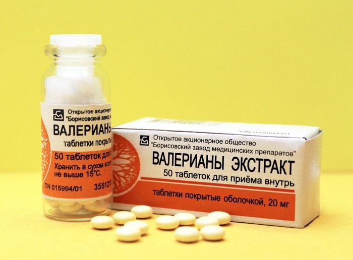 валериана таблетки как принимать