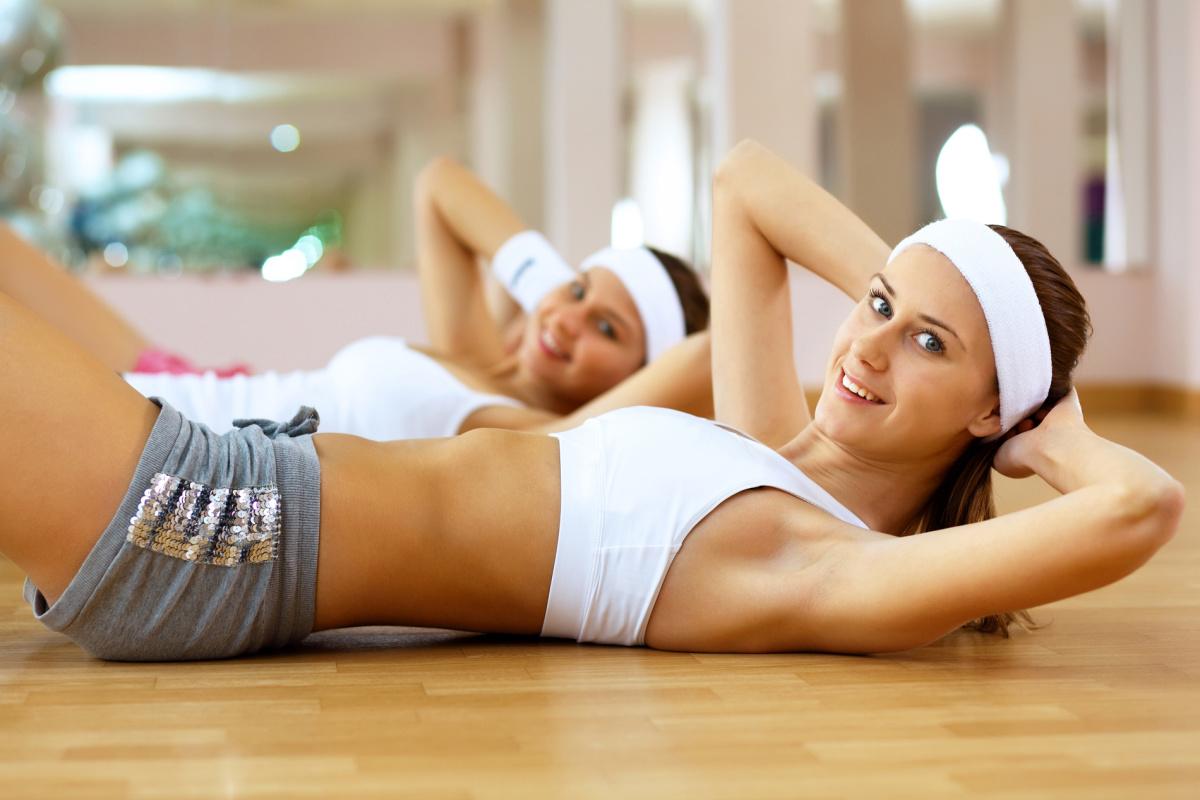 Упражнения сушка 2 недели для девушек